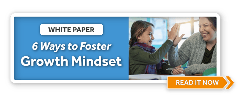Download the White Paper: Cultivating a Growth Mindset with Educational Technology