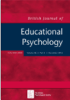 Thumbnail Image of the British Journal of Education Psychology 2016
