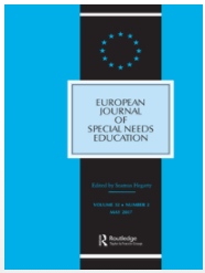 Thumbnail Image of the European Journal of Special Needs Education 2009