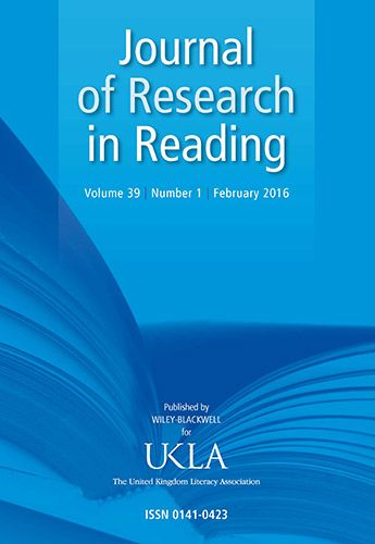Thumbnail Image of the Journal of Research in Reading 2006