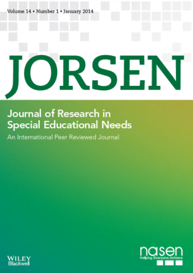 Journal of Research in Special Education Needs (2013