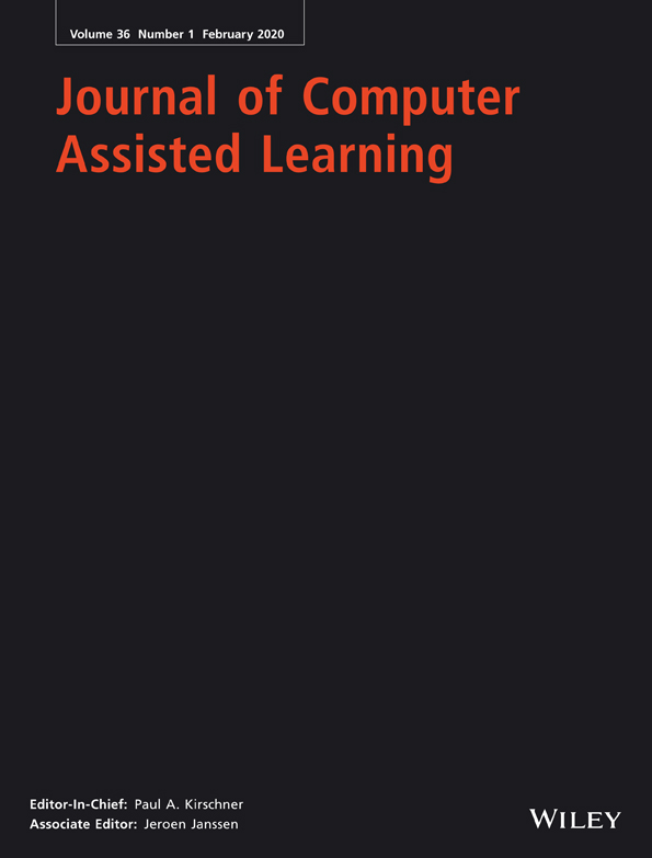 Thumbnail Image of Journal of Computer Assisted Learning 2020